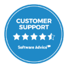 JobDiva Software Advice Customer Support Badge