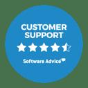 JobDiva Software Advice Customer Support Bage