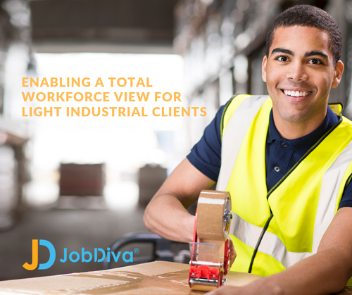 JobDiva for Light Industrial Staffing